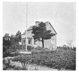 Stenbro, Mälbyvägen, 1942