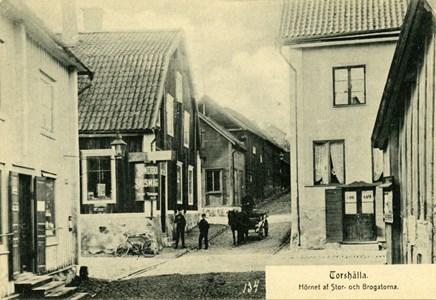 Byxhörnan före 1910