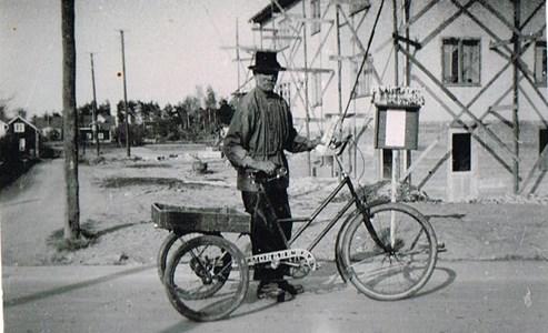 Carl Jonsson, ägare till Kristinelund, 1939