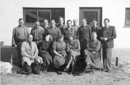 Personal på Elmotor 1951
