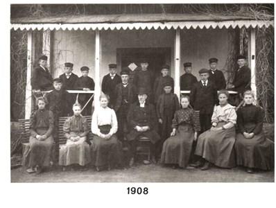 1908 års Konfirmander