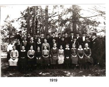 1919 års Konfirmander
