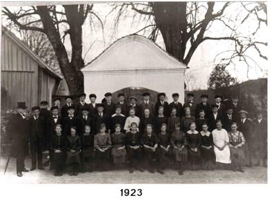 1923 års Konfirmander