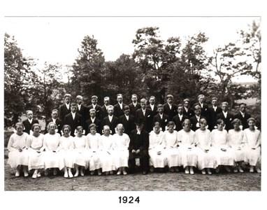 1924 års konfirmander