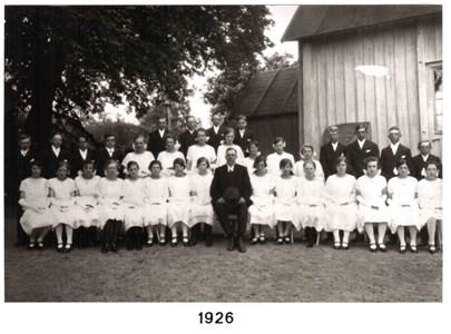 1926 års Konfirmander