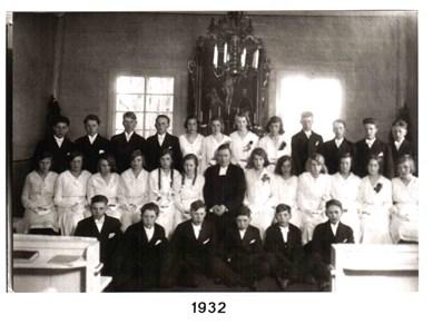 1932 års Konfirmander