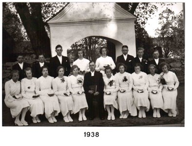 1938 års Konfirmander