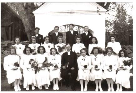 1942 års Konfirmander