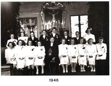 1946 års Konfirmander