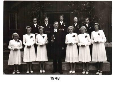 1948 års Konfirmander