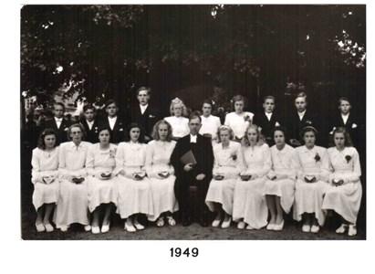 1949 års Konfirmander