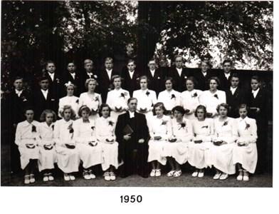 1950 års Konfirmander