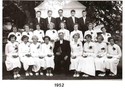 1952 års Konfirmander