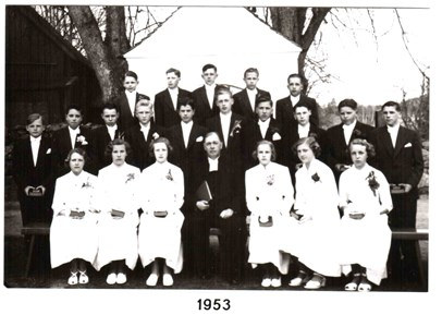 1953 års Konfirmander