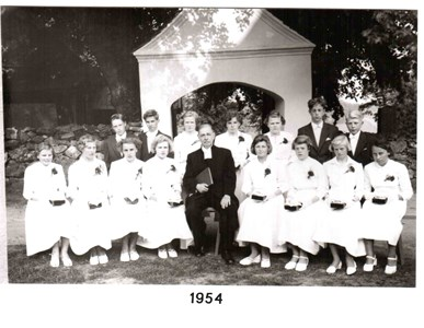 1954 års Konfirmander