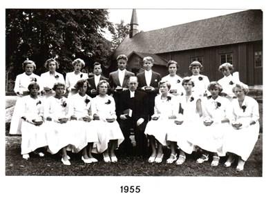 1955 års Konfirmander