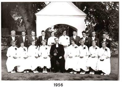 1956 års Konfirmander