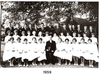 1959 års Konfirmander