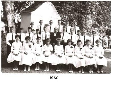 1960 års Konfirmander