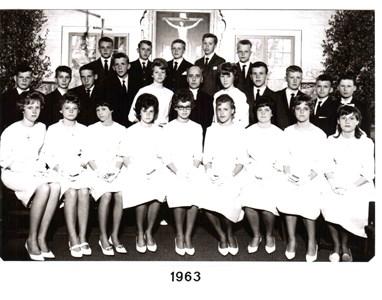 1963 års Konfirmander
