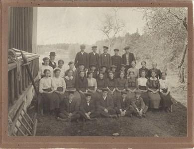 1914 års Konfirmander