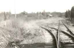 Vigelsbo Gruvor bangård 1951 foto Lars Norén