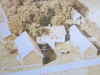 Ingers gård 1950-talet