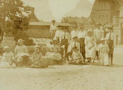 Littersbo skolelevers utflykt till Stockholm 1919.jpg