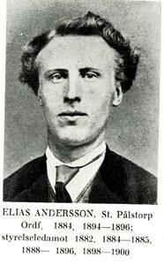 Elias Andersson i Stora Pålstorp