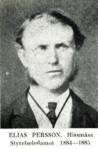 Elias Persson i Hissmossa