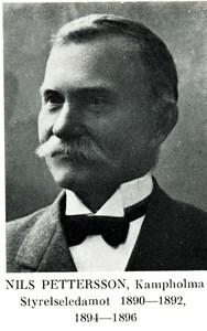 Nils Pettersson, Stora Kampholma
