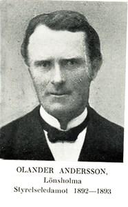 Olander Andersson i Lönaholma