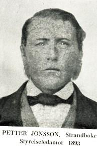 Petter Jönsson i Strandböke