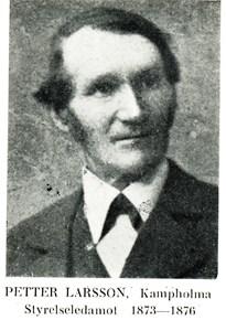 Petter Larsson i Stora Kampholma