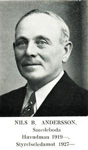 Nils B Andersson i Smedeboda