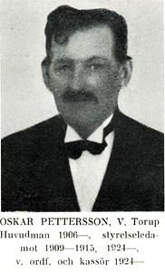 Oskar Pettersson i Västra Torup