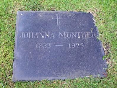 Gravsten Västra Torup Johanna Munther
