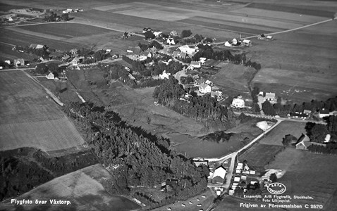 Flygfoto Våxtorp