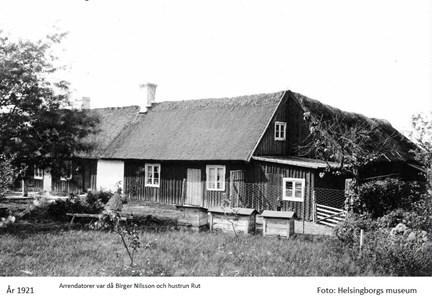 Bostadhuset från sydöst