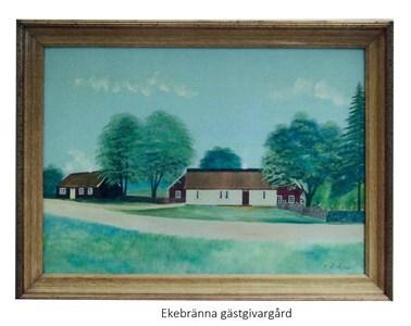 Ekebränna gästgivargård, Gåramålning