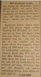 Besök av LT år 1958