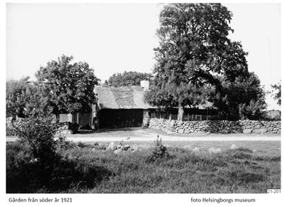 Gården från söder år 1921
