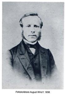 Folkskollärare August Wind