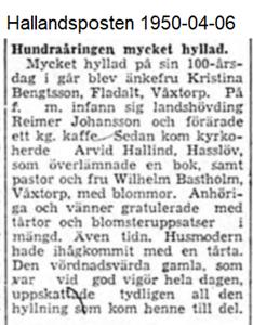 100-åringen   HP 1950-04-06
