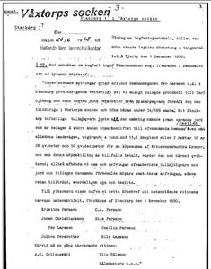 Köpebrev 1 nov 1890