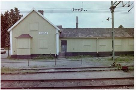 Östansjö Stationshus 1982