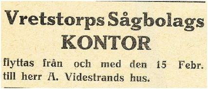 Aron Widestrand 1912