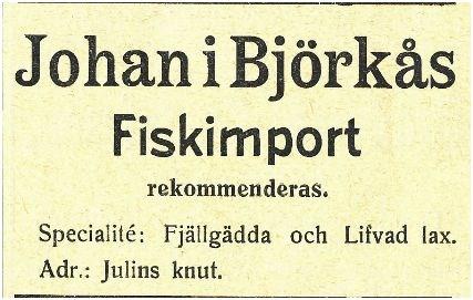 Björkå 1912