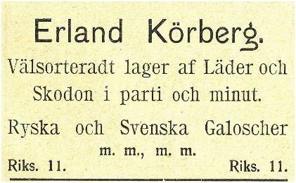 Körbergs 1912