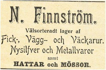 Nils Finnström Villa Boda 1912